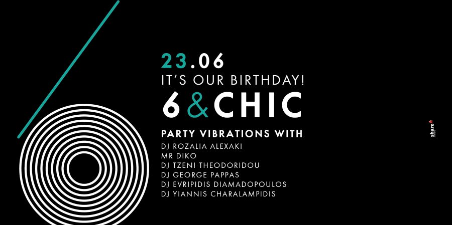 6 & CHIC!  It's Our Birthday!