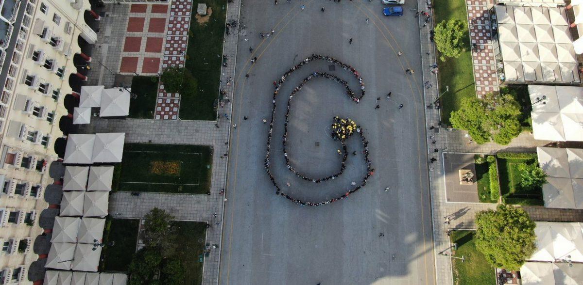 """Σχημάτισαν το """"G"""" για τα 100 χρόνια της Γενοκτονίας των Ποντίων!"""