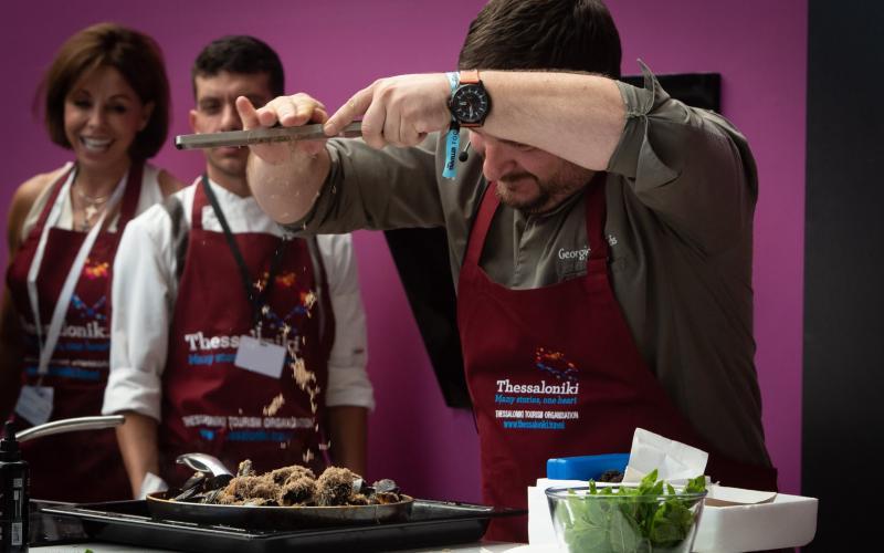 Η Θεσσαλονίκη των γεύσεων μάγεψε στο Food Festival στο Λονδίνο