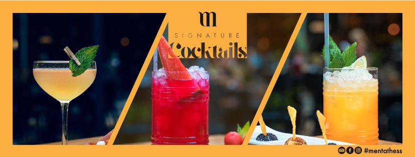 Our Signature Cocktail List